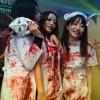 Thee bloody nurses